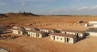 Algeria prefabricated low cost and affordable housing project