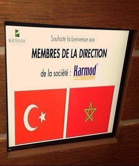 Kunjungan ke Koutoubia Holding sang raksasa perusahaan makanan di Maroko