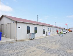Konstruksi tempat perkerja untuk bandara ke 3 Istanbul selesai dilakukan oleh Karmod