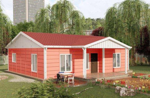 100 m2 Rumah Bertingkat Tunggal