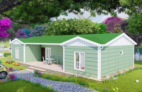 102 m2 Rumah Bertingkat Tunggal