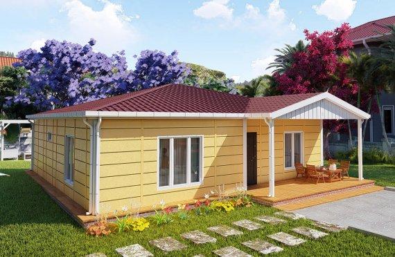 103 m2 Rumah Bertingkat Tunggal