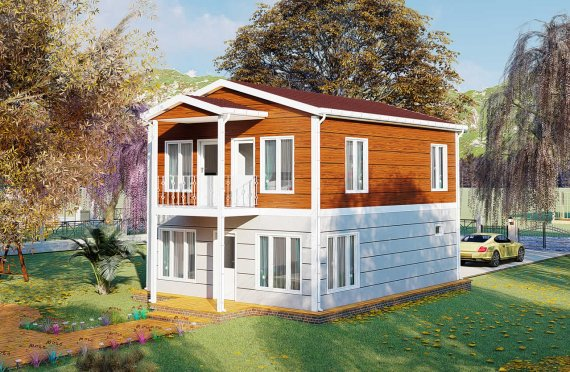 126 m2 Villa Rumah Pabrikan