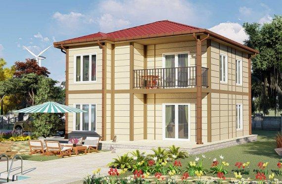 138 m2 Villa Rumah Pabrikan