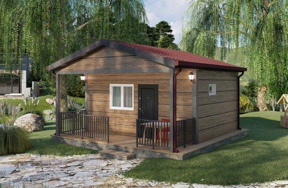 28 m2 Rumah Bertingkat Tunggal