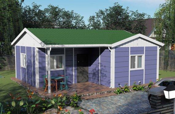 51 m2 Rumah Bertingkat Tunggal