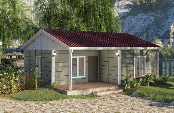 64 m2 Rumah Bertingkat Tunggal