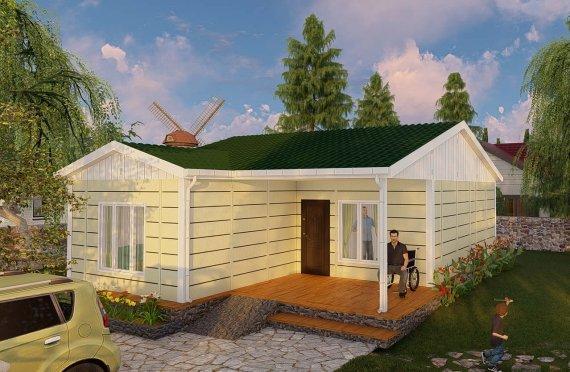 73 m2 Rumah Bertingkat Tunggal