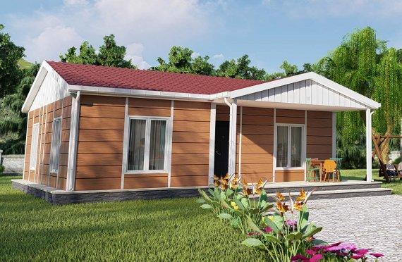 75 m2 Rumah Bertingkat Tunggal