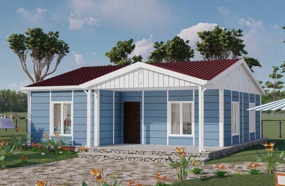 82 m2 Rumah Bertingkat Tunggal