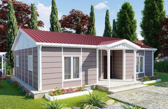 95 m2 Rumah Bertingkat Tunggal