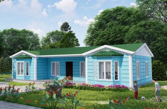 97 m2 Rumah Bertingkat Tunggal