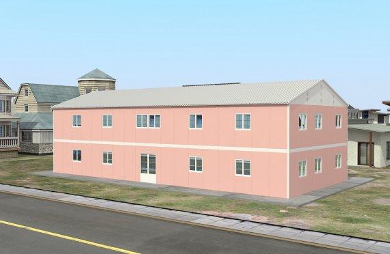 Kelas Portabel 480 m2
