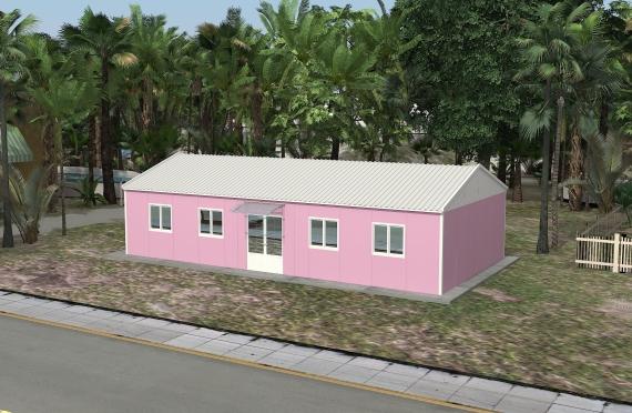 Bangunan Kantor Modular 98 m2