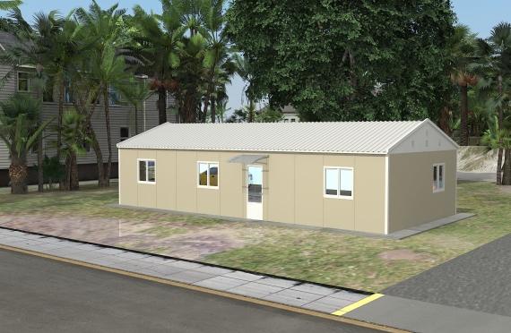 Bangunan Kantor Modular 90 m2