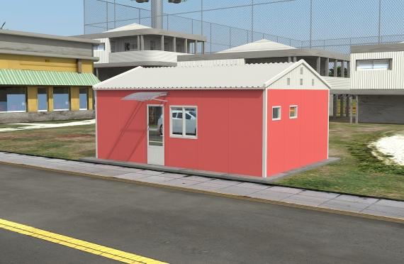 Bangunan Kantor Modular 40 m2