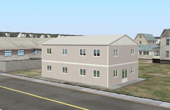Dapur Komersil Prefabrikasi 250 m²
