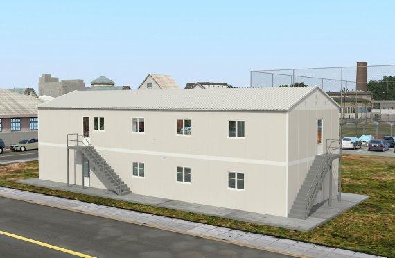 Dapur Komersil Prefabrikasi 332 m²
