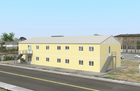 Dapur Komersial Prefabrikasi 576 m²