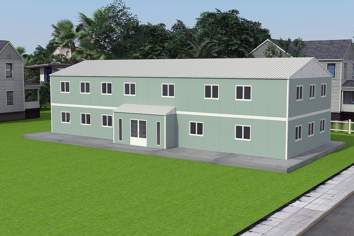Bangunan Kantor Modular 415 m2