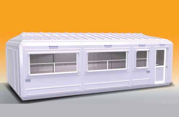 Bangunan Portabel 390x750