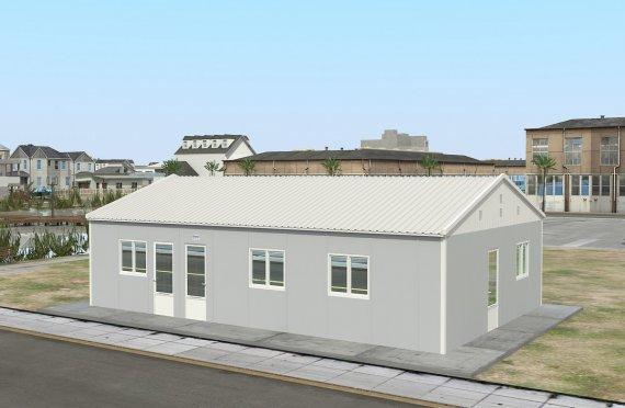 kantin Prefabrikasi 89 m²