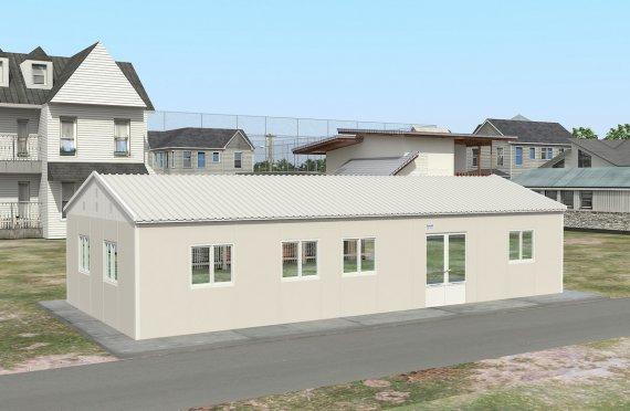 Dapur Komersial Prefabrikasi 98 m²