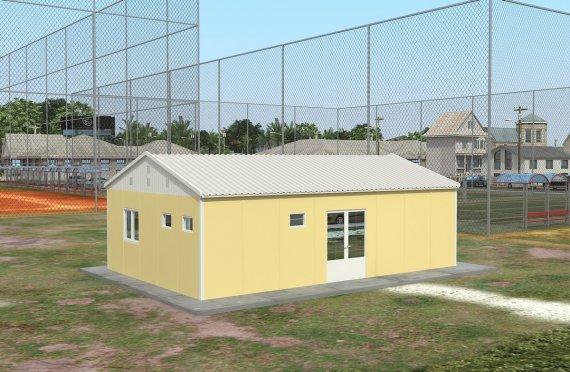 Akomodasi Unit Modular 204 m²