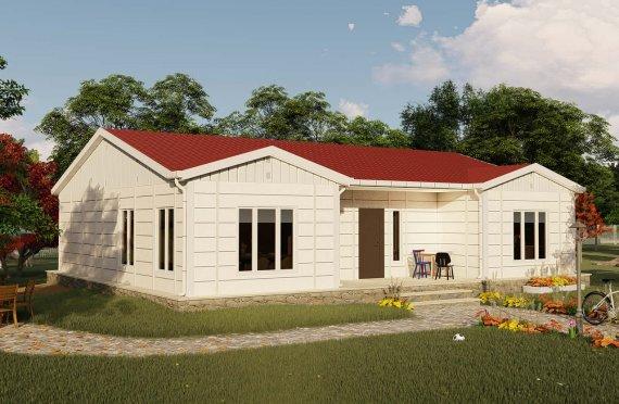 123 m2 Rumah Bertingkat Tunggal