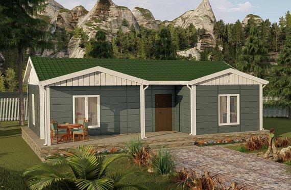 87 m2 Rumah Bertingkat Tunggal