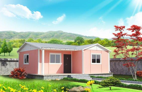 Rumah Prefabrikasi Modular - 49 m² Desain dan Plan Rumah Modular Prefabrikasi