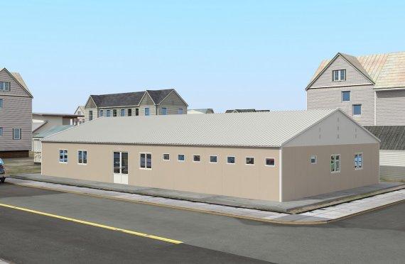 Rumah Sakit Modular 275 m2