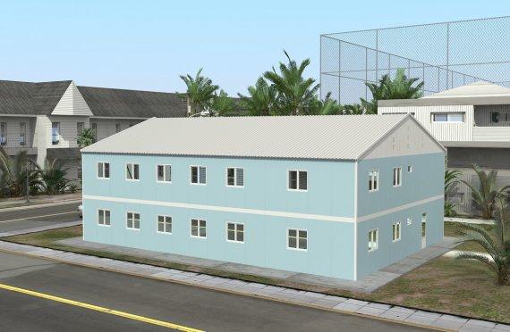 Rumah Sakit Modular 506 m2