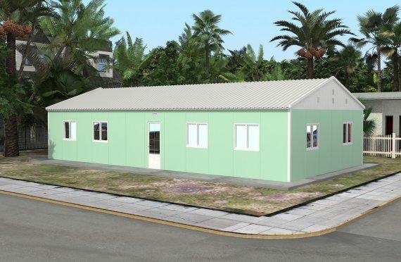 Kelas Portabel 117 m2