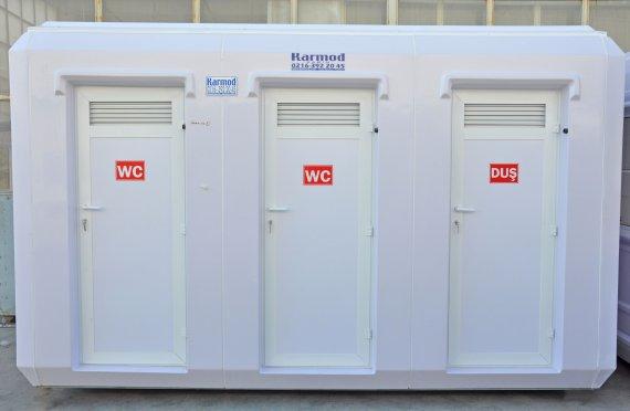 Toilet Modular Portable kios