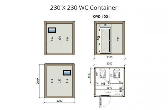 Wc Kontainer KW2 230x230