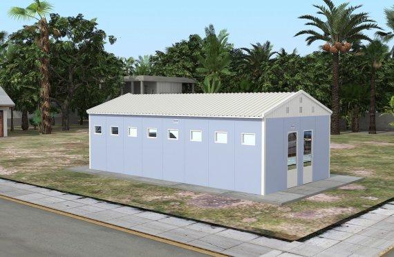 WC shower prefabrikasi 52 m²