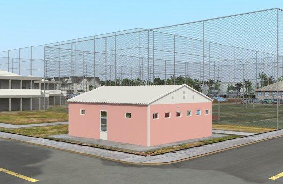 WC &Shower Prefabrikasi 70 m²