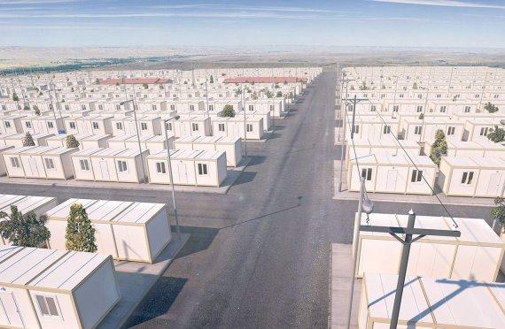 Kamp Pengungsian Sementara