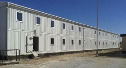 Bangunan Prefabrikasi Tempat Pekerja dari Karmod untuk Proyek Eksplorasi Minyak Caspian