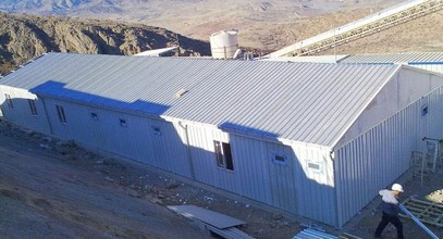 Bangunan tempat kerja dikirim ke Anagold Mining di Turki