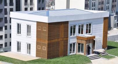Kantor Penjualan prefabrikasi yang mewah untuk Proyek Boshphorus City