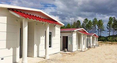 Karmod telah menyelesaikan proyek rumah baja di Panama