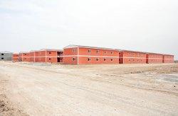 Karmod membangun kota prefabrikasi untuk 10.000 Orang dalam 7 Bulan