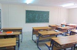 Karmod telah mendirikan gedung untuk sekolah menengah atas