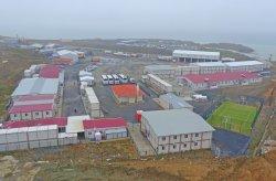 Konstruksi tempat kerja untuk badara ke 3 yang telah diselesaikan oleh Karmod
