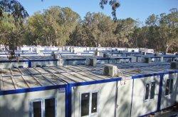 Libya telah menerima kontainer kompleks untuk tempat pekerja dari Karmod