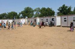 Proyek  kelas mobile dan sekolah di Nigeria