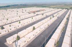 Proyek Perumahan Kontainer untuk pengungsi syiria